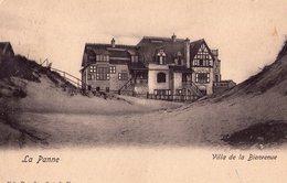De Panne   ( 365 )  Villa Dans Les Dunes - De Panne
