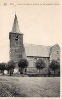 GHOY : Eglise Saint Médard Et Mémorial Aux Morts Des Deux Guerres - Lessines