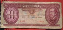 100 / Szaz Forint 1992 (WPM 174a) - Ungheria