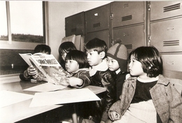 "DERECK - LACROIX/GAMMA  CRETEIL 1978 NOEL REFUGIES VIETNAMIENS DU ""HAÏ-PHONG"" SIPHULA N° 76 De 500ex. - Künstlerkarten"
