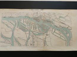 ANNALES PONTS Et CHAUSSEES (Allemagne) - Plan De IXe Congrès De Navigation - Port De Hambourg - 1903 (CLA58) - Cartes Marines