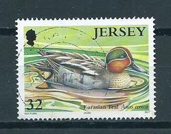 2004 Jersey Ente,birds,oiseaux,vögel Used/gebruikt/oblitere - Jersey