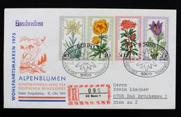 FDC Bund, BRD, Michel Nr. 867-870, Ersttagsbrief Wohlfahrtsmarken 1975 - FDC: Brieven
