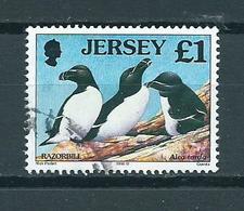 1998 Jersey Birds,oiseaux,vögel £1 Used/gebruikt/oblitere - Jersey