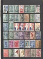 STATI UNITI - UNITED STATES - USA - US - Lotto - Accumulo - Vrac - 184 Francobolli - Usati - Francobolli