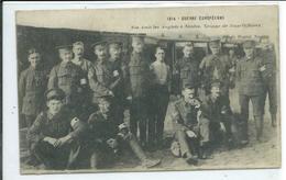 1914- Guerre Européenne-Nos Amis Les Anglais à Nantes-Groupe De Sous-Officiers - Guerre 1914-18