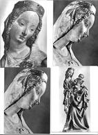 3010k: 4 AKs Madonna Von Krumau, Ungelaufen - Virgen Mary & Madonnas