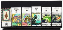 SRO298 UNO WIEN 1988/89 MICHL 87/93 MIT TABS (RANDZIERFELDER) **  POSTFRISCH - Centre International De Vienne