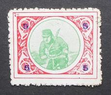 France Vignette Militaire Delandre 5h Soldier On A Byke - Commemorative Labels