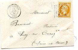 G.C.2065 LIZY SUR OURCQ (73) Sur N°21,L.S.C. Du 23/6/65. - Postmark Collection (Covers)