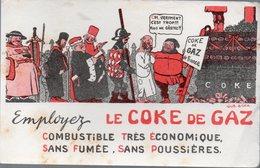 Buvard LE COKE DE GAZ (illustré Par GUS BOFA) (PPP10550) - Electricité & Gaz