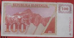 100 (Tolarjev) 1990 (WPM 6) - Slovénie