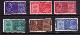 CITTA' DEL VATICANO VATIKAN VATICAN 1954 ANNO MARIANO YEAR SERIE COMPLETA COMPLETE SET MNH - Vatican