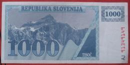 1000 (Tolarjev) 1991 (WPM 9a) - Slovenië