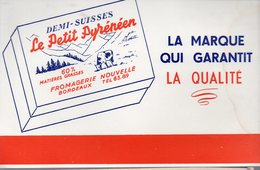 Bordeaux (33 Gironde) Buvard LE PETIT PYRENEEN (fromage Demi-suisse) (PPP10552) - Alimentaire