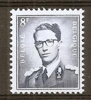 BELGIE Boudewijn Bril * Nr 1071 P3a * Postfris Xx * FLUOR  PAPIER - 1953-1972 Lunettes