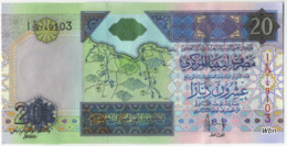 Libya 20 Dinars (P67) Sign 10 -UNC- - Libya
