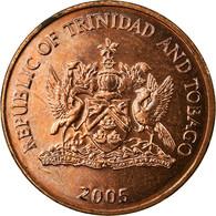 Monnaie, TRINIDAD & TOBAGO, Cent, 2005, Franklin Mint, SUP, Bronze, KM:29 - Trinité & Tobago