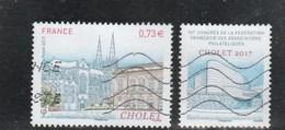 FRANCE 2017 CHOLET OBLITERE - YT 5142 - - France