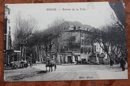 DIGNE (04) - ENTREE DE LA VILLE - Digne