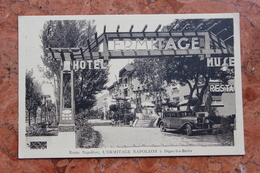 DIGNE (04) - ROUTE NAPOLEON - HOTEL RESTAURANT L'ERMITAGE NAPOLEON - Digne
