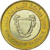 Monnaie, Bahrain, Hamed Bin Isa, 100 Fils, 2008/AH1429, TTB, Bi-Metallic, KM:26 - Bahreïn