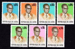 Congo 1973 Set Of Stamps Mi#473-78 MNH - Zaïre
