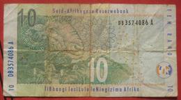 10 Rand ND (2005?) (WPM 128?) - Suráfrica
