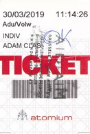 Belgien Brüssel Eintrittskarte 2019 Atomium - Eintrittskarten
