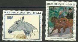 Mali - 1967 Toulouse Lautrec MH *   SG 158-9  Sc C51-2 - Mali (1959-...)