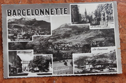 BARCELONNETTE (04) - PANORAMA / CASERNES / CLOCHER / VUE GENERALE / PLACE MANUEL - Barcelonnette