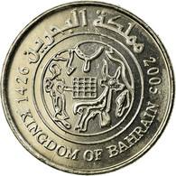 Monnaie, Bahrain, Hamed Bin Isa, 25 Fils, 2005/AH1426, TTB, Copper-nickel, KM:24 - Bahreïn