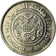 Monnaie, Bahrain, Hamed Bin Isa, 25 Fils, 2005/AH1426, TTB, Copper-nickel, KM:24 - Bahrein