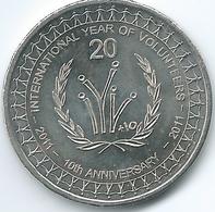 Australia - Elizabeth II - 20 Cents - 2011 - Year Of Volunteers - KM1634 - Decimal Coinage (1966-...)