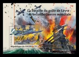 Niger 2019 Mih. 6336 (Bl.964) World War II. Battle Of Leyte Gulf MNH ** - Niger (1960-...)