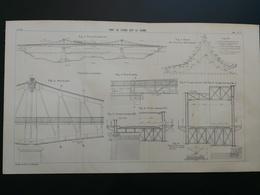 ANNALES Des PONTS Et CHAUSSEES (Dep 69 ) - Pont De Frans Sur La Saone - 1903 (CLA68) - Cartes Marines