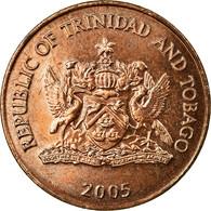 Monnaie, TRINIDAD & TOBAGO, 5 Cents, 2005, Franklin Mint, SUP, Bronze, KM:30 - Trinité & Tobago