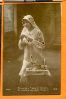 EGG826, Jeune Infirmière De La Croix-Rouge, Circulée 1919 Sous Enveloppe - Croce Rossa
