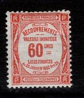 Taxe Duval YV 48 N** Cote 9 Euros - Postage Due