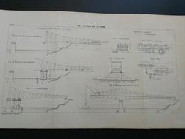 ANNALES PONTS Et CHAUSSEES (Dep 69 ) - Pont De Frans Sur La Saone - 1903 (CLA69) - Cartes Marines
