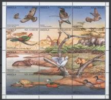 Angola. 1996 Stanley & Gibbon 2014: N° 1111/13 & 1115/17, 1119/21 & 1123/25 **, MNH. Cote 2018 : 5,80 £ - Angola