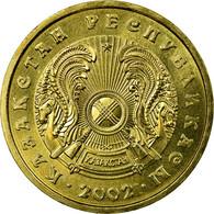 Monnaie, Kazakhstan, 10 Tenge, 2002, Kazakhstan Mint, SUP, Nickel-brass, KM:25 - Kazachstan