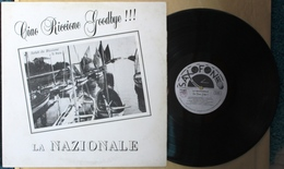LP LA NAZIONALE - CIAO RICCIONE GOODBYE !!! Etichetta SAXOFON SAX 1009 SIAE - Country & Folk