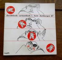 Boek  Davidsfonds  CARTOONBOEK  1 Heist Duinbergen 1967 Lay-out  Ray Gilles - Prenten & Gravure