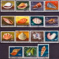 PAPUA NEW GUINEA 1968-69 SG #137-51  Compl.set Used - Papua Nuova Guinea