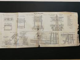 ANNALES PONTS Et CHAUSSEES (Dep 13 ) - Viaduc Sur L'étang De Caronte - Impr Par A. GENTIL - 1915 (CLA71) - Cartes Marines