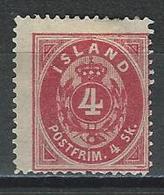 Island Mi 3A (*) No Gum - 1918-1944 Administration Autonome