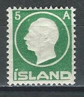 Island Mi 69 * MH - 1918-1944 Autonomous Administration