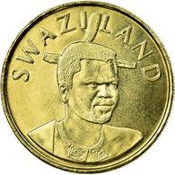 Monnaie, Swaziland, King Msawati III, Lilangeni, 1998, British Royal Mint, SUP - Swaziland
