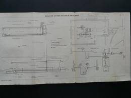 ANNALES PONTS Et CHAUSSEES (Dep 94) Installation électriques Aux écluses De Port A L'anglais Par A GENTIL - 1909 (CLA72) - Cartes Marines